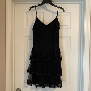 Betsey Johnson black cocktail dress